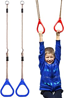 Children Trapeze Bar Pull Up Gym Rings Kids Playground Home Swing Sets Accessories Exercise Fitness Indoor Outdoor Equipments