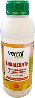 VERMIORGANIC Enraizante Líquido Ecológico con Hormonas Naturales, 1L. Estimula y Aumenta el Crecimiento de Las raíces de C...