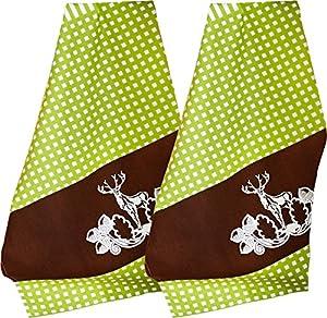Geschirrtuch Lederhosen im Alpenstil 50×70