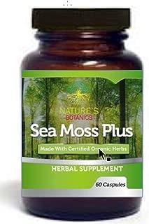 Sea Moss, Irish Moss and Bladderwrack Vegetable Capsules Sebi Organic