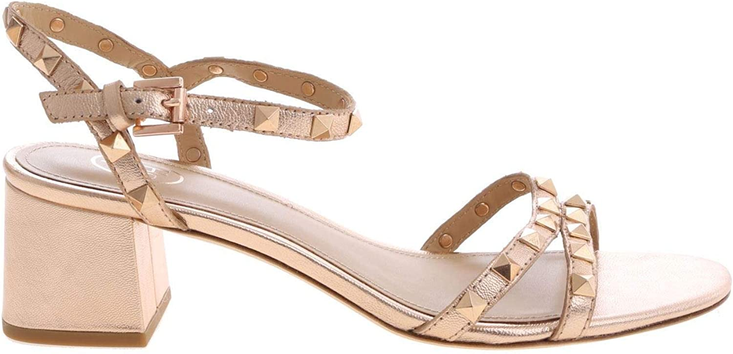 Ash Women's IGGY01 Pink Leather Sandals