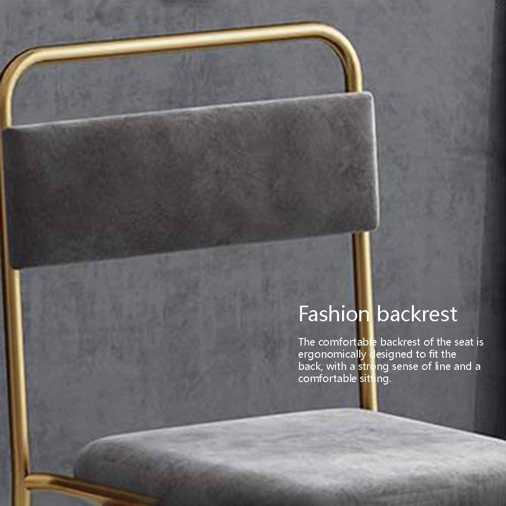 Bseack Ergonomique sans accoudoirs Siège empilable Design Clair Chaise Creux Retour Accueil Chaise de négociation Restaurant Chambre (Color : Pink) Blue