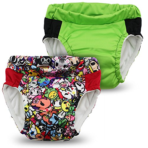 Kanga Care Sac imperméable Lil learnerz Formation couches (Grand, tokijoy et Tadpole)