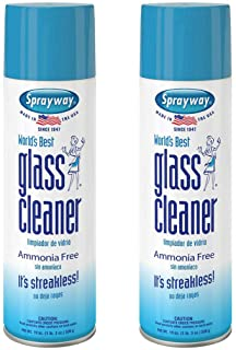Sprayway, Glass Cleaner, 19 Oz Cans, Pack of 2
