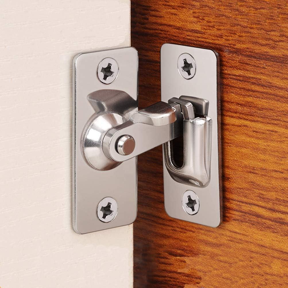 Dingchi 90 Degree sale Door Clasp mart Push Lock Button Pu Shift
