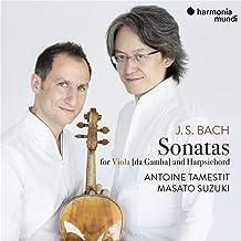Antoine Tamestit - Bach: Sonatas for Viola da Gamba BWV1027-29 (2019) LEAK ALBUM