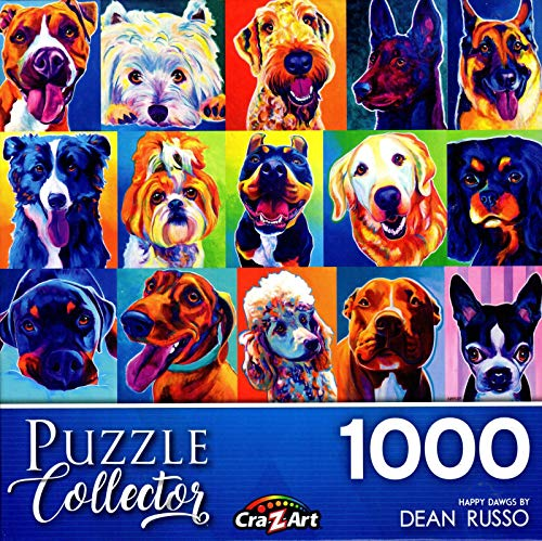 LPF Happy Dawgs Collector Art 1000 pc Jigsaw Puzzle by Artist: Dean Russo