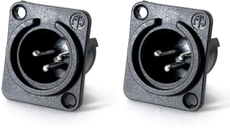 Max 70% OFF Neutrik USA NC3MPP 3 Pin XLR Male Connector Mount specialty shop Panel