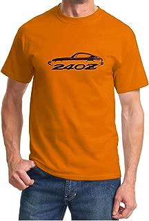 Datsun 240Z Classic Outline Design Tshirt