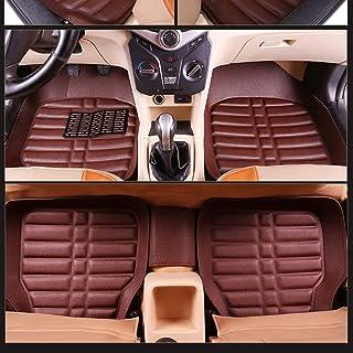 Ciberfix Kit de Alfombrillas de Velour Compatible con Ford Fusion 2002-2005