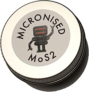 Hagen Automation Micronised MoS2 Moly Molybdenum Disulphide Powder high pressure lubricant for bearings  engine rebuilds  robots  printers  cycling etc 10ML
