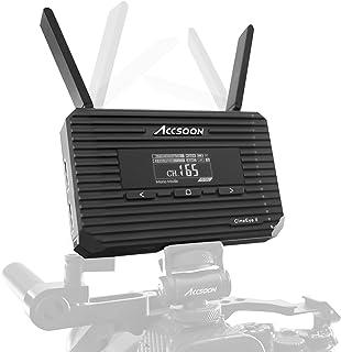 【Accsoon正規代理】-CineEye 2-hdmiワイヤレス-HDMI無線-送信機 DFS付き 屋外使用可能 遅延0.06秒以内 1080P 60FPS 対応 ワイヤレスビデオ伝送システム 日本語説明書付き