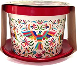 OBEN Maceta Decorativa Arte Mexicano Diseño Tenango Hidalgo