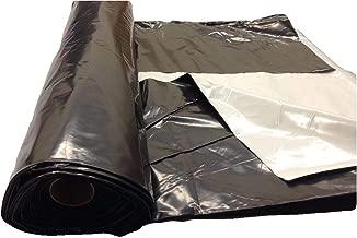 Light deprevation greenhouse cover 100% blackout film 40' x 25' 6 mil