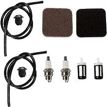 HURI Air Filter Fuel Line Grommet Tuneup Kit for Stihl FS80 FS85 KM85 FC75 BG72 BG75 FS74 FS76 Replace 4137-124-2800