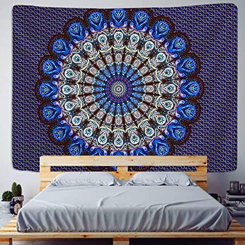 MGHYEQ tapizTapiz de Mandala de la India, Manta de Pared, Tela Bohemia de Mandalas para el hogar, Esterilla de Yoga de Chakra, colchas, decoración de Luna, Venta al por Mayor