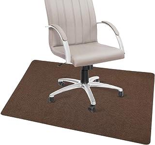 チェアマット ズレない デスク 床保護マット 吸音 傷防止 90×120cm ブラウン