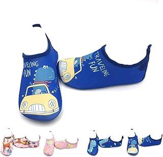 Niños Niña Zapatos de Agua Descalzo Barefoot Respirable Zapatos de Playa Aire Libre Calcetines de Natación Piscina Surf Yoga Zapatos de niño natación Niños