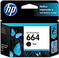 Cartucho HP 664 Preto Original - (F6V29AB)