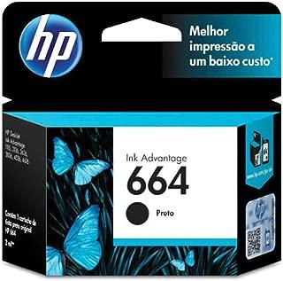 HP F6V29AB, Cartucho de Tinta 664, Preto