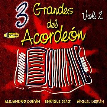 3 Grandes del Acordeón, Vol. 2