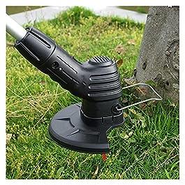 TYTG désherbeur Tondeuse à Gazon électrique sans Fil Portable pour Jardin à Gazon, Seuls des Adultes de Plus de 18 Ans…