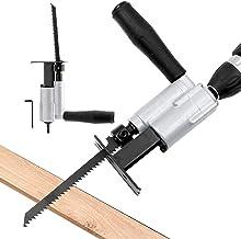 Sierra de conexión de taladro eléctrico para carpintería de sierra de vaivén para casa sable portátil herramienta de corte