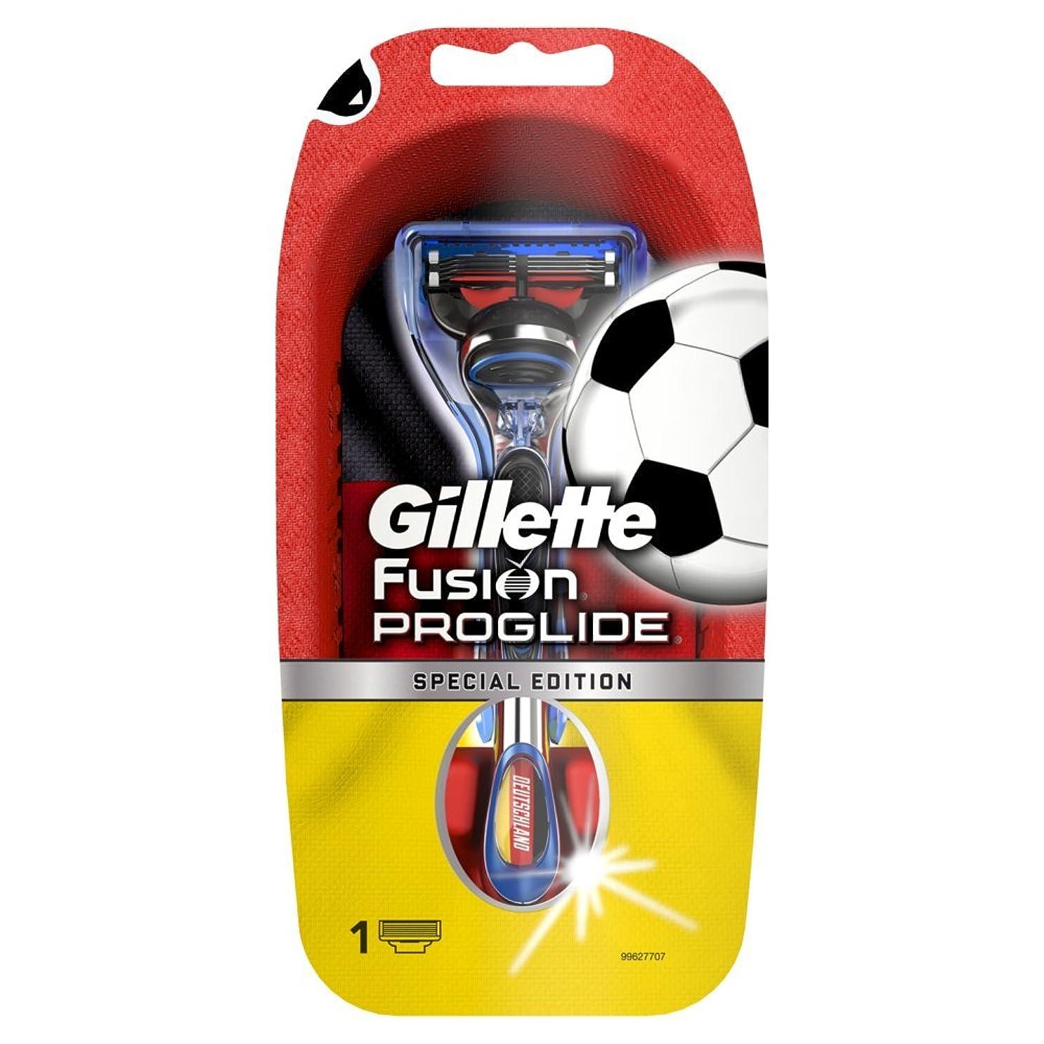 フェードアウト逆さまに桁【数量限定品】 ジレット プログライド サッカードイツモデルホルダー
