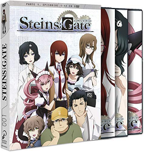 Steins Gate Box 1 Parte 1 [DVD]