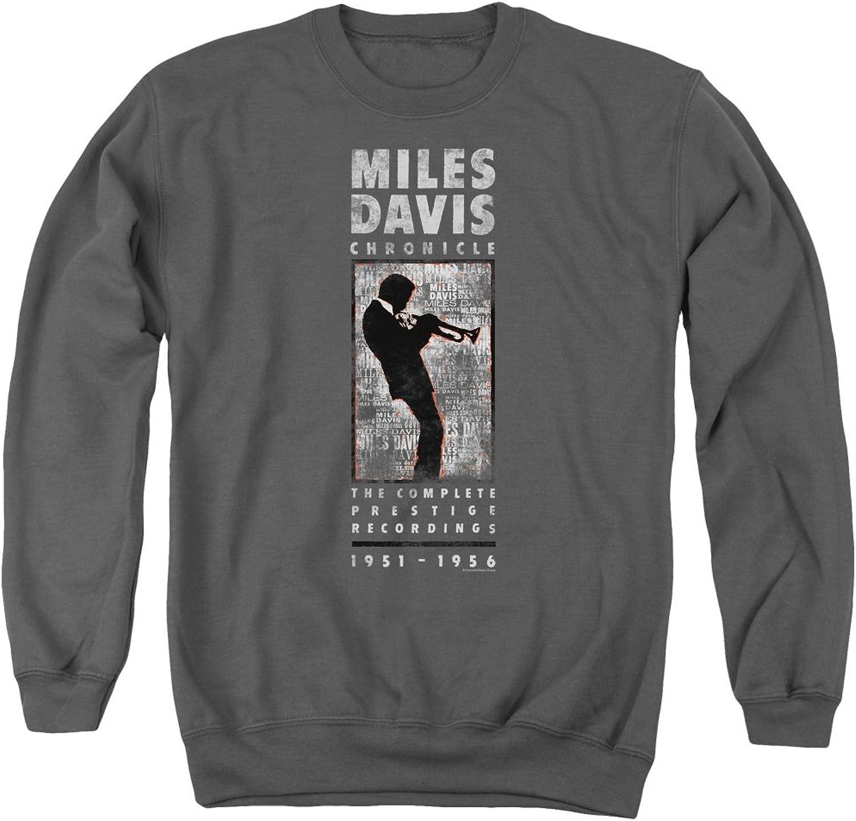Miles Davis - - Miles Silhouette Sweater für Herren