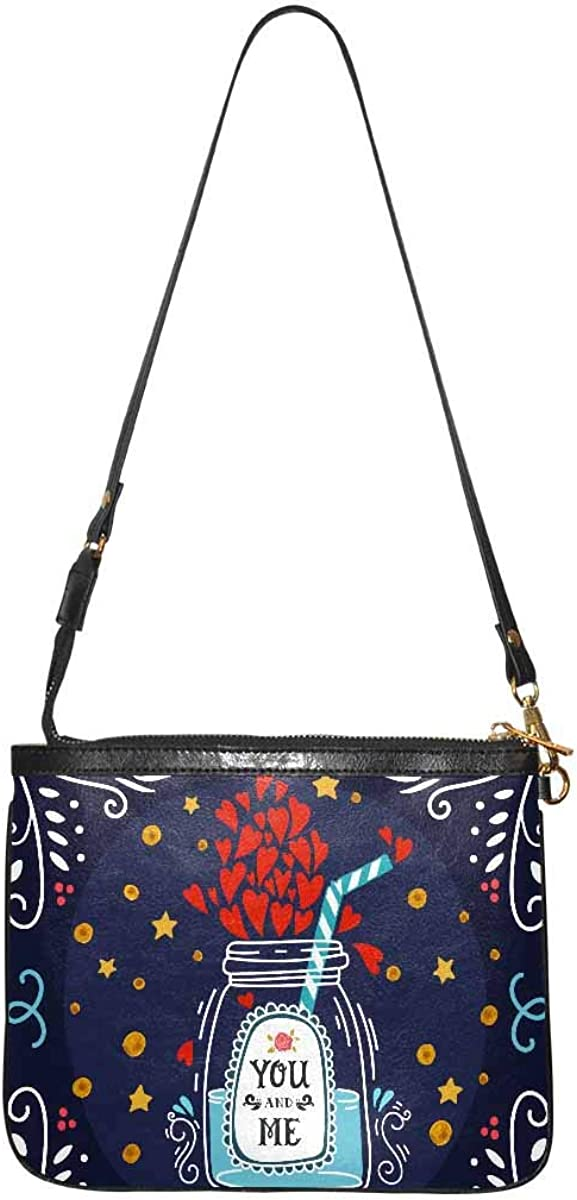 InterestPrint PU New York Mall Fashionable Leather Bag Wallet Bags Shoulder f Purses Small