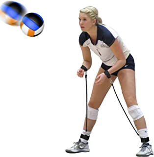 BFVV Volleyball Training Equipment Passing Aid Resistance Band for Practicing Serving, Arm Swing Passing, Agility Training