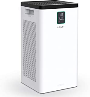 Best COLZER Air Purifier with True HEPA Air Filter,3-Stage Filtration, for Spaces Up to 900 Sq Ft, Perfect for Bedroom/Home/Office with Filter Review