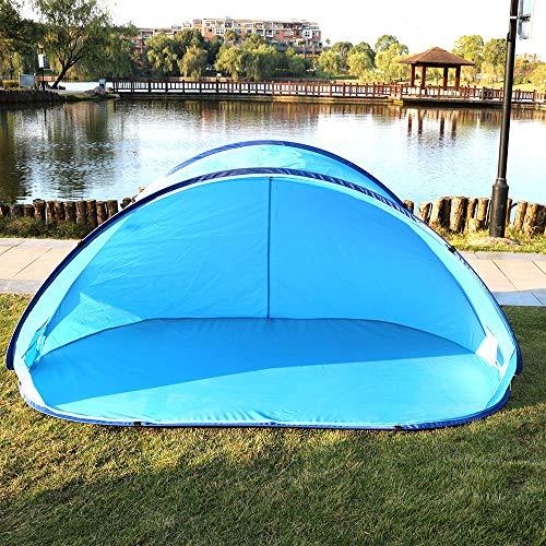 LUFKLAHN Une Seule Couche extérieure Tente, Enfants Pliant Pop-up Double-Vitesse Automatique Tente Plage, Caractéristiques: 220cm * 120cm * 100cm