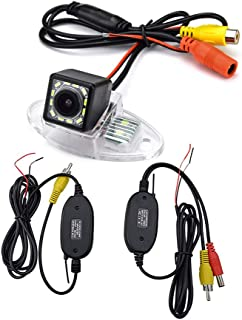 aSATAH 2.4G Wireless Car Rear View Camera for Buick Enclave/Chevy Chevrolet Traverse/GMC Acadia/Saturn Outlook& Waterproof and Shockproof Reversing Backup Camera (12 LED)