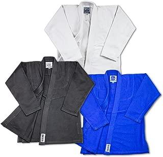 Wholesale Light Weight BJJ Gi Starter Bundle Includes Light Weight Jiu Jitsu Belt and 2 Bonus Traininig DVD