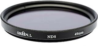 ND8 ND Neutral Density Motion Blur Shutter Speed Filter for Sony 50mm F1.4 Alpha A-Mount Prime Lens