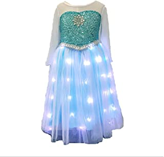 SHINYOU Girls Princess Dress Frozen Costume Elsa Dresses for Halloween, Cosplay