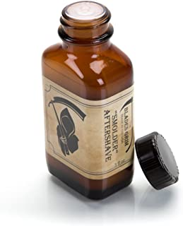 The Blades Grim – Aftershave Oil, Handmade in The USA (Smolder, 3oz)