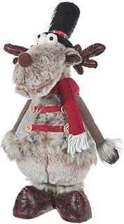 IH CASADECOR Prancer The Reindeer Plush Stander, Multi