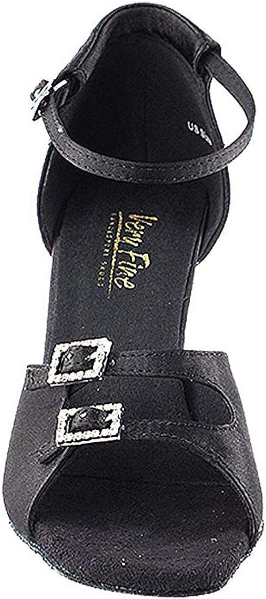 Women's Ballroom Dance Shoes Tango Wedding Salsa Shoes 1620EB Comfortable-Very Fine 2.5