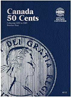 Canada 50 Cents Collection 1953 to 1967, Number Four (Official Whitman Coin Folder)