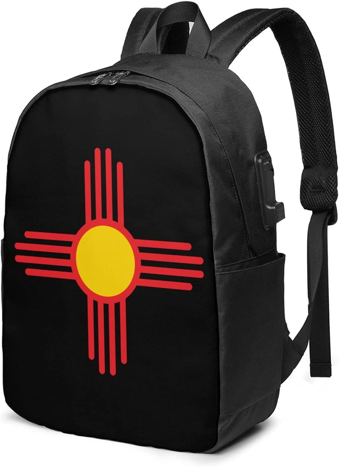 New Mexico Zia Seasonal Wrap Introduction Symbol Laptop Backpack Charging Port 17 Usb With Max 85% OFF