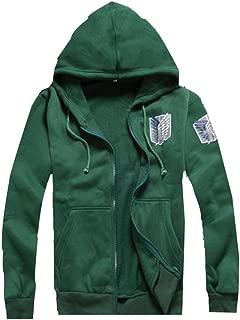 Elegant Anime Shingeki No Kyojin the Survey Corps Cosplay Thermal Costume Hoodie Jacket