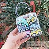 Madlst Lernautos für Kinder, Kleinkinder, Reibung, angetriebene Fahrzeuge, Baby-Rückzieh-Spielzeug für 1–2–3 Jahre alte Jungen