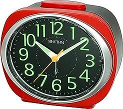 Rhythm Plastic Analog Desk & Shelf Clock – CRA838WR01