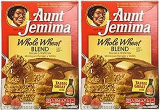 Aunt Jemima Whole Wheat Pancake Mix - 35 oz - 2 pk