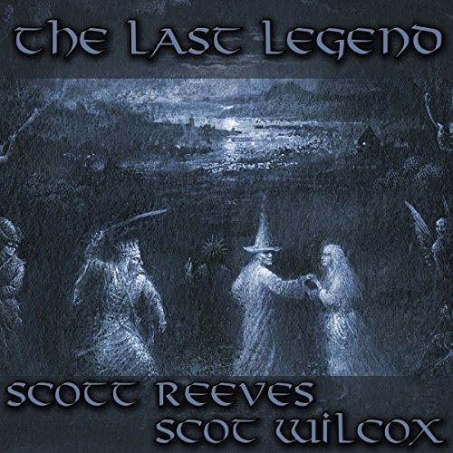 The Last Legend audiobook cover art