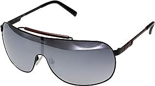 GUESS Factory Women's Brow Bar Metal Mirrored Sunglasses