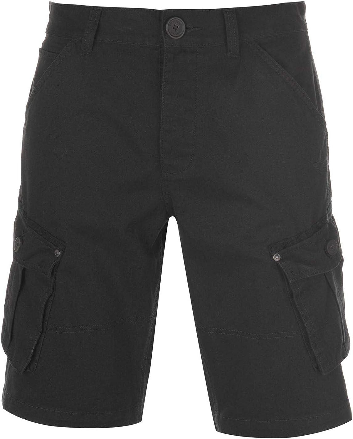 Firetrap Mens BTK Shorts Cargo Pants Trousers Bottoms